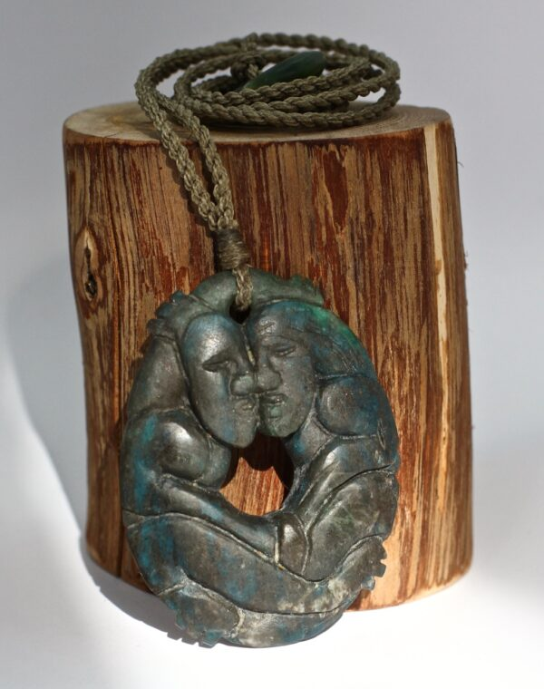 night whispers, Aotea, tangiwai pounamu, designer jewellery, jade pendant, handmade jewellery,