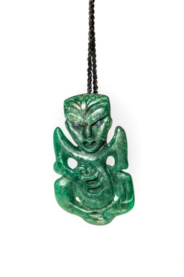 Aotea, tiki, gemstone, nz made, pounamu, nz jade necklace,