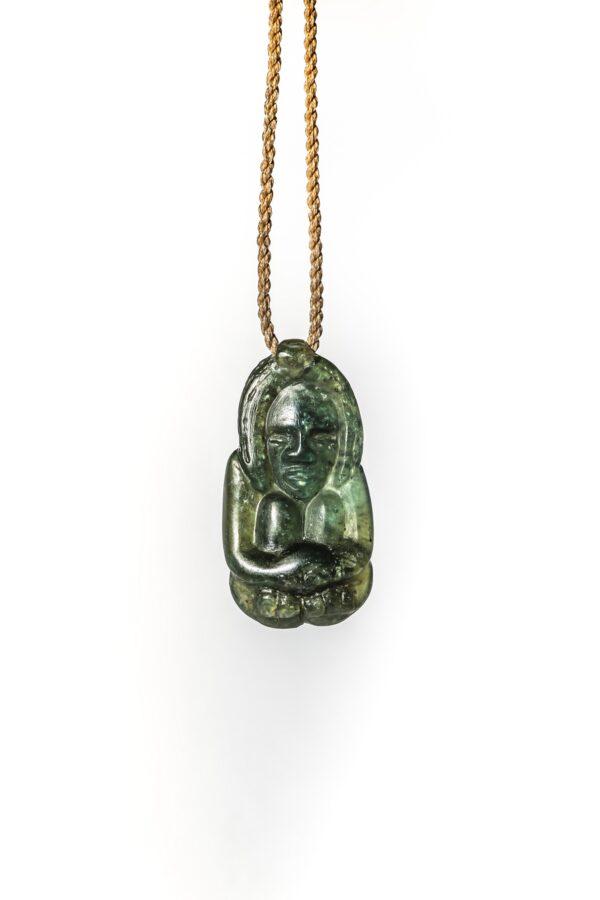 tangiwai pounamu, jade pendant, greenstone necklace, fine art, stone carving